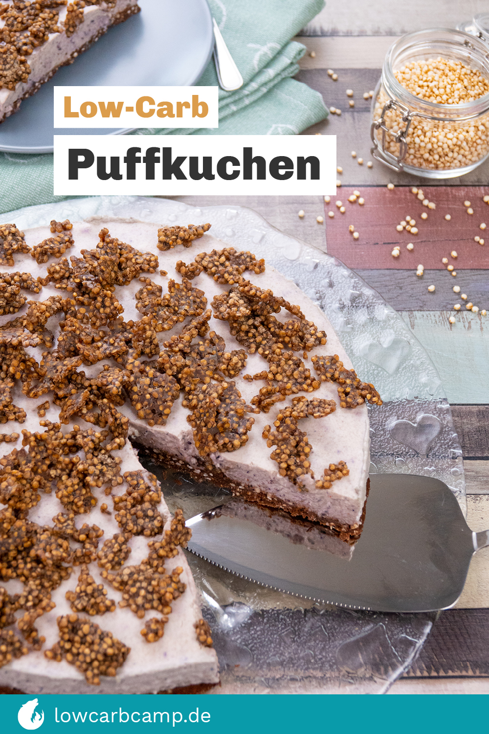Low-Carb Puffkuchen
